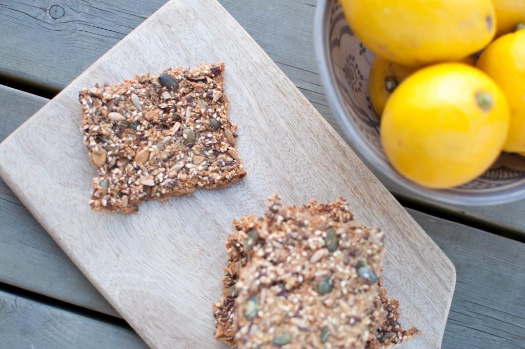 Knekkebrød med quinoaflak