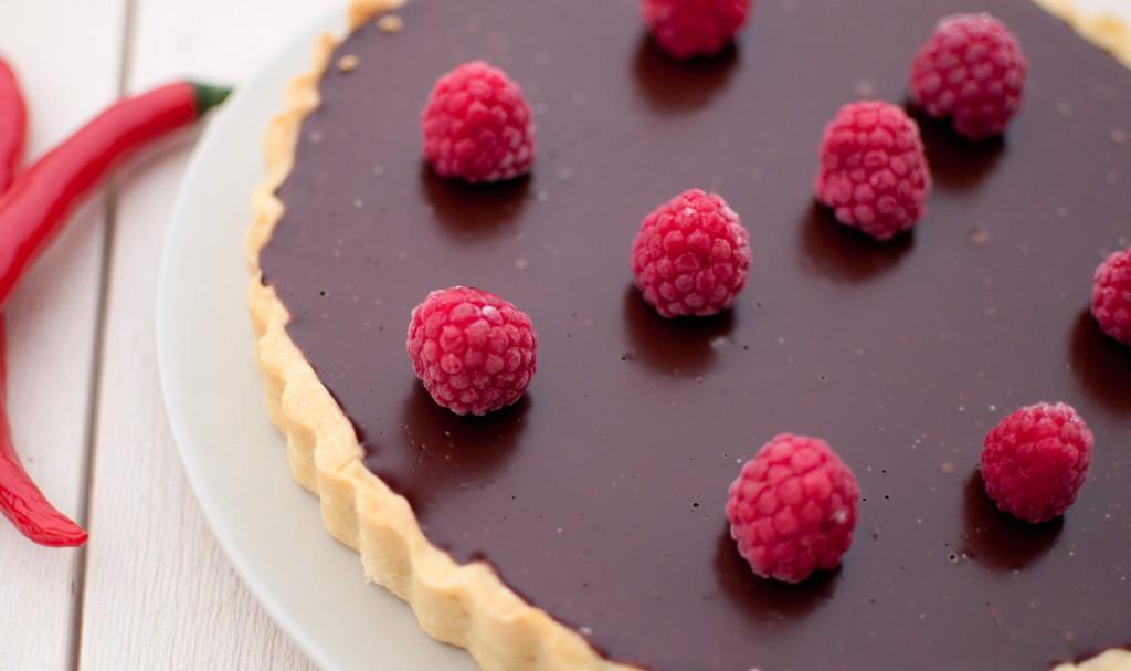 sjokoladeterte