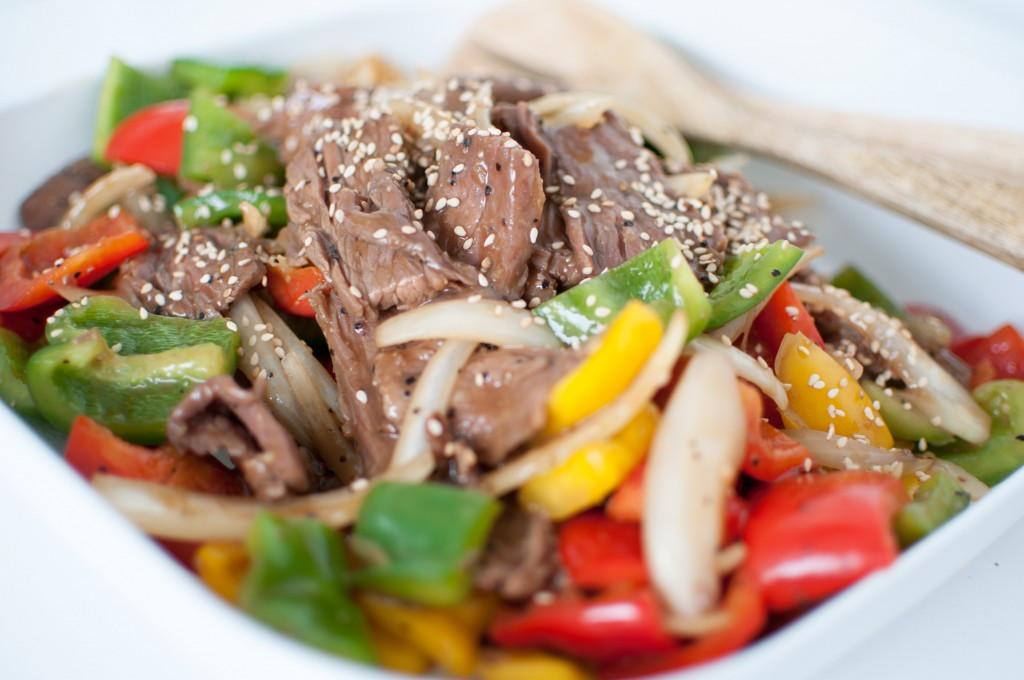 black pepper sauce wok