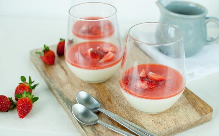 panna cotta med yoghurt