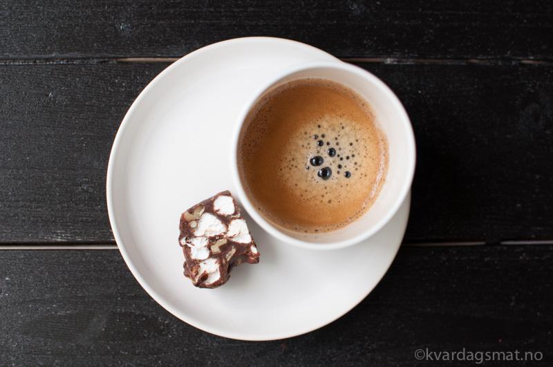 kaffe og fudge