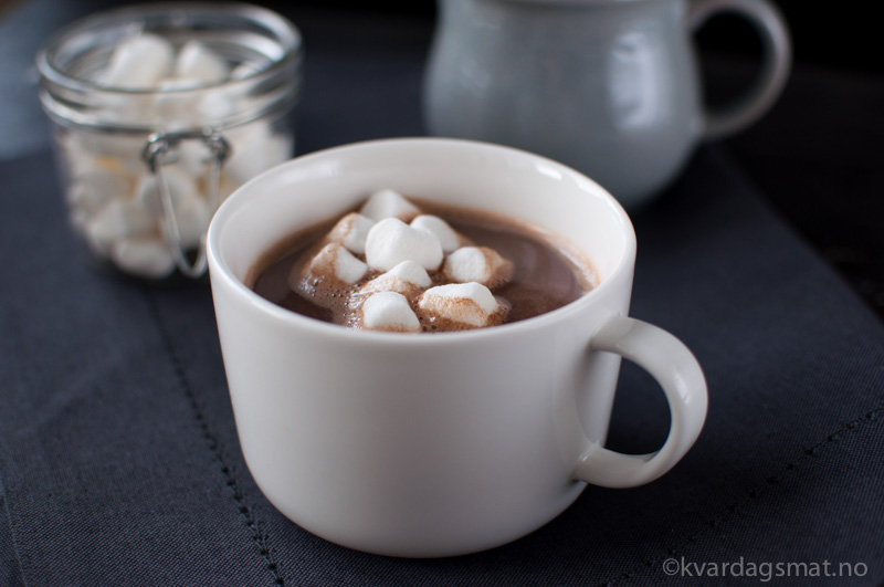 oppskrift hjemmelaget kakao