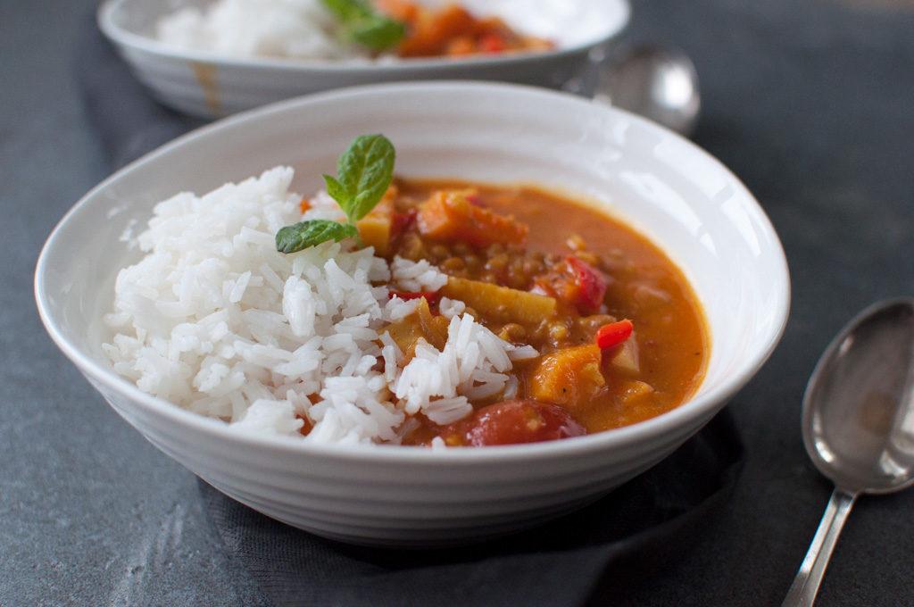 curry vegetar