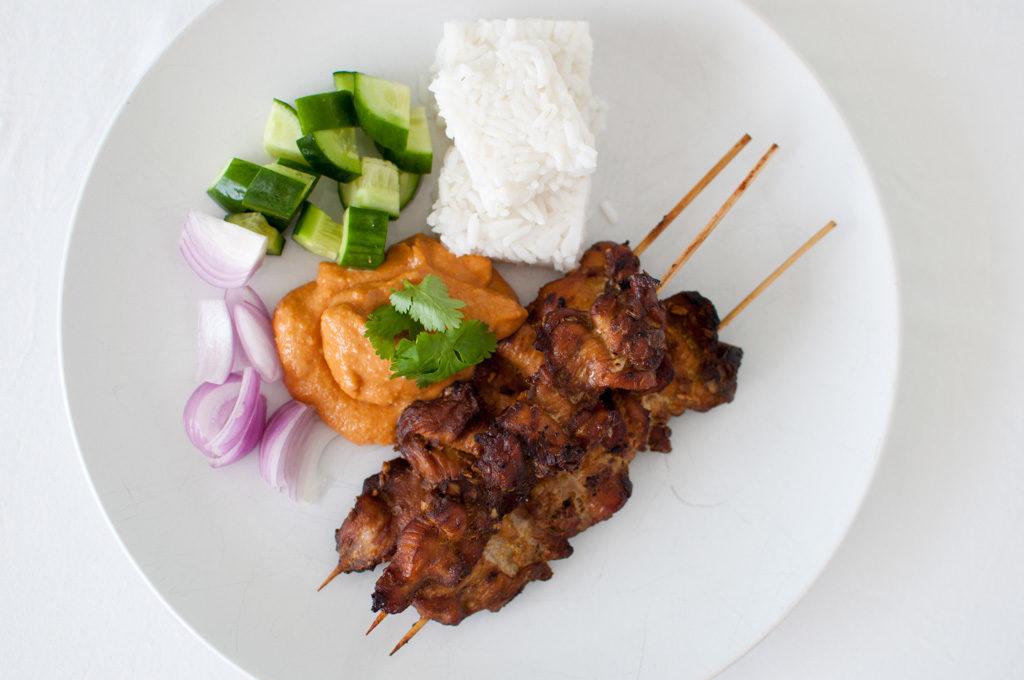 kylling satay