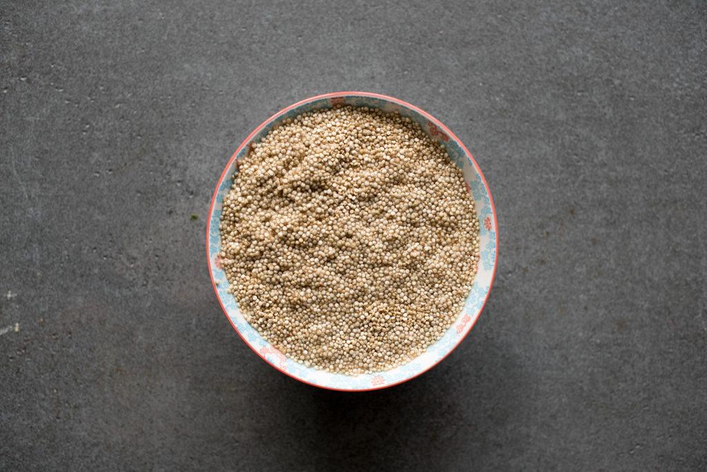 bløtlegge quinoa