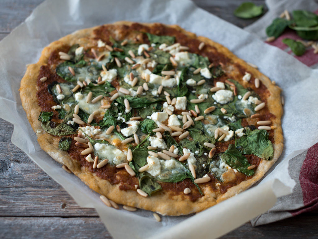 nydelig vegetarpizza