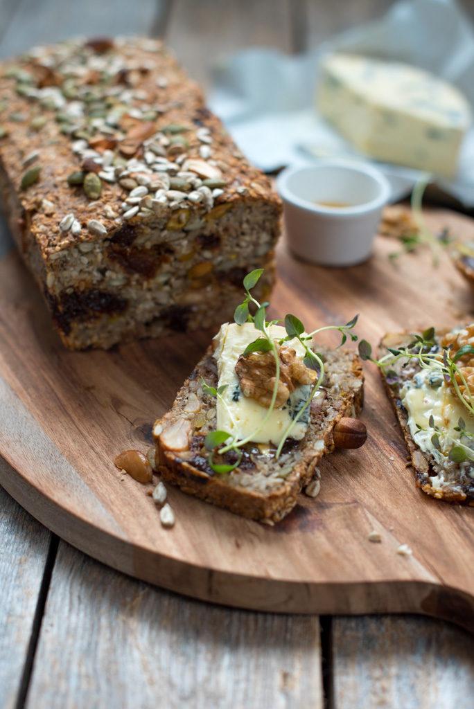 deilig brød med ost
