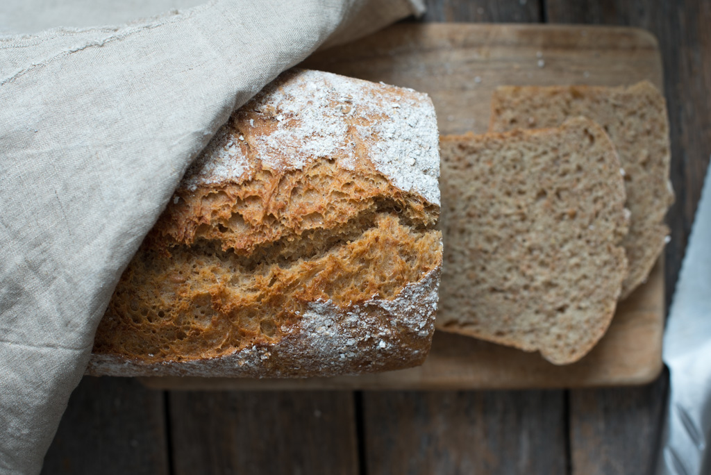 spelt og rug brød