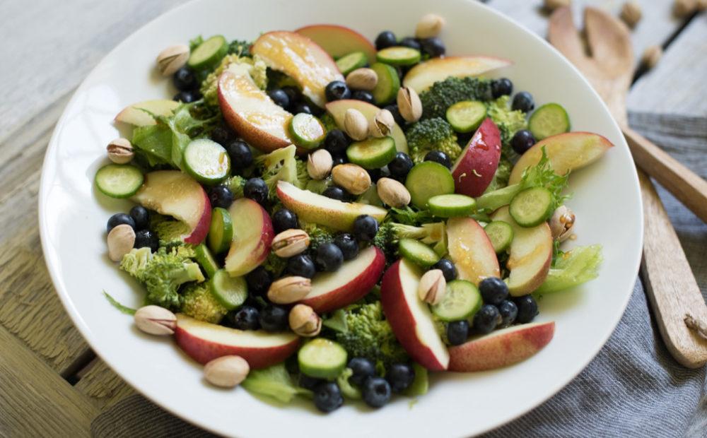 sommer salat brokkoli