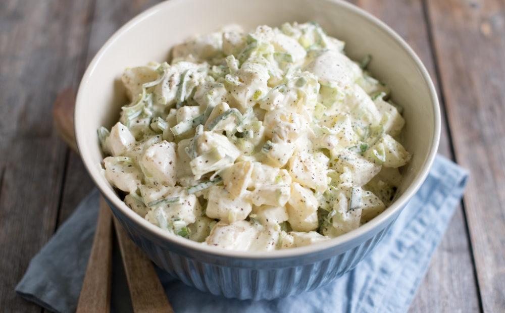 hjemmelaget potetsalat