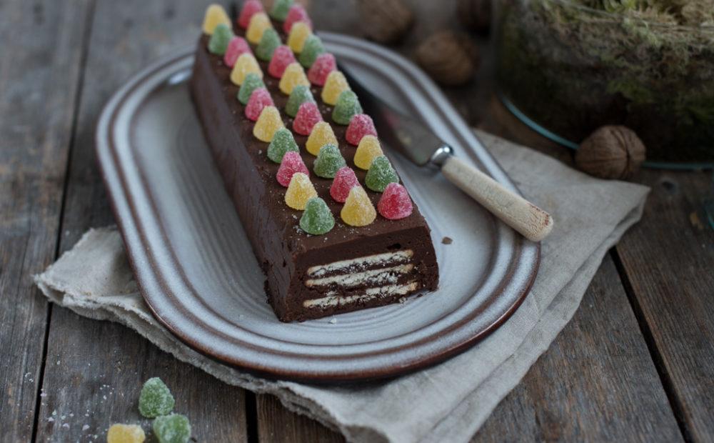 sjokoladekjeks-kake