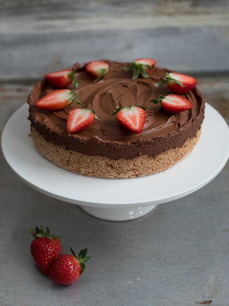 sjokolade mousse kake