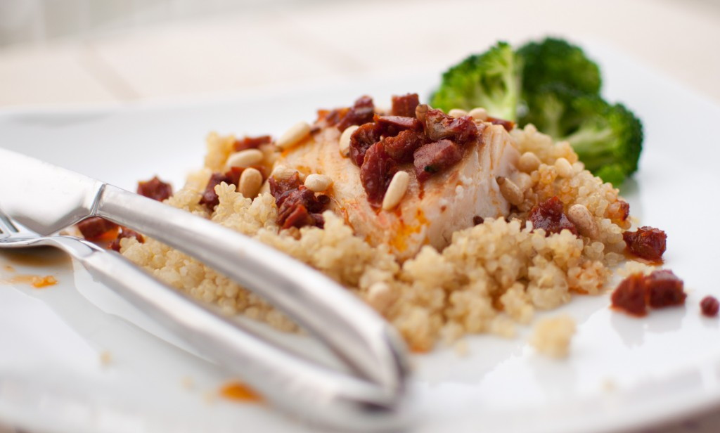 torsk quinoa