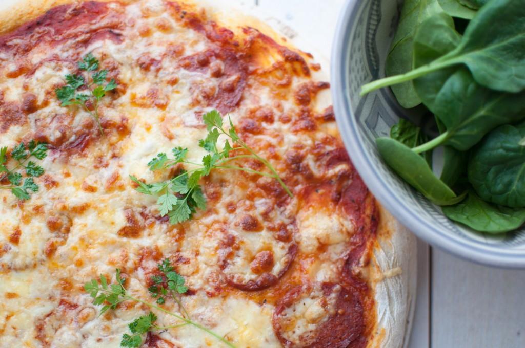 heimelaga pizza