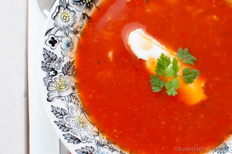 tomatsuppe med ekstra vitamin
