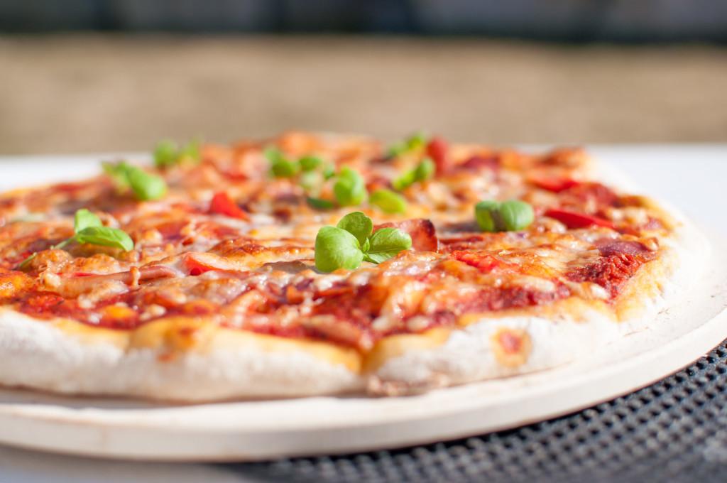 hjemmelaget pizza