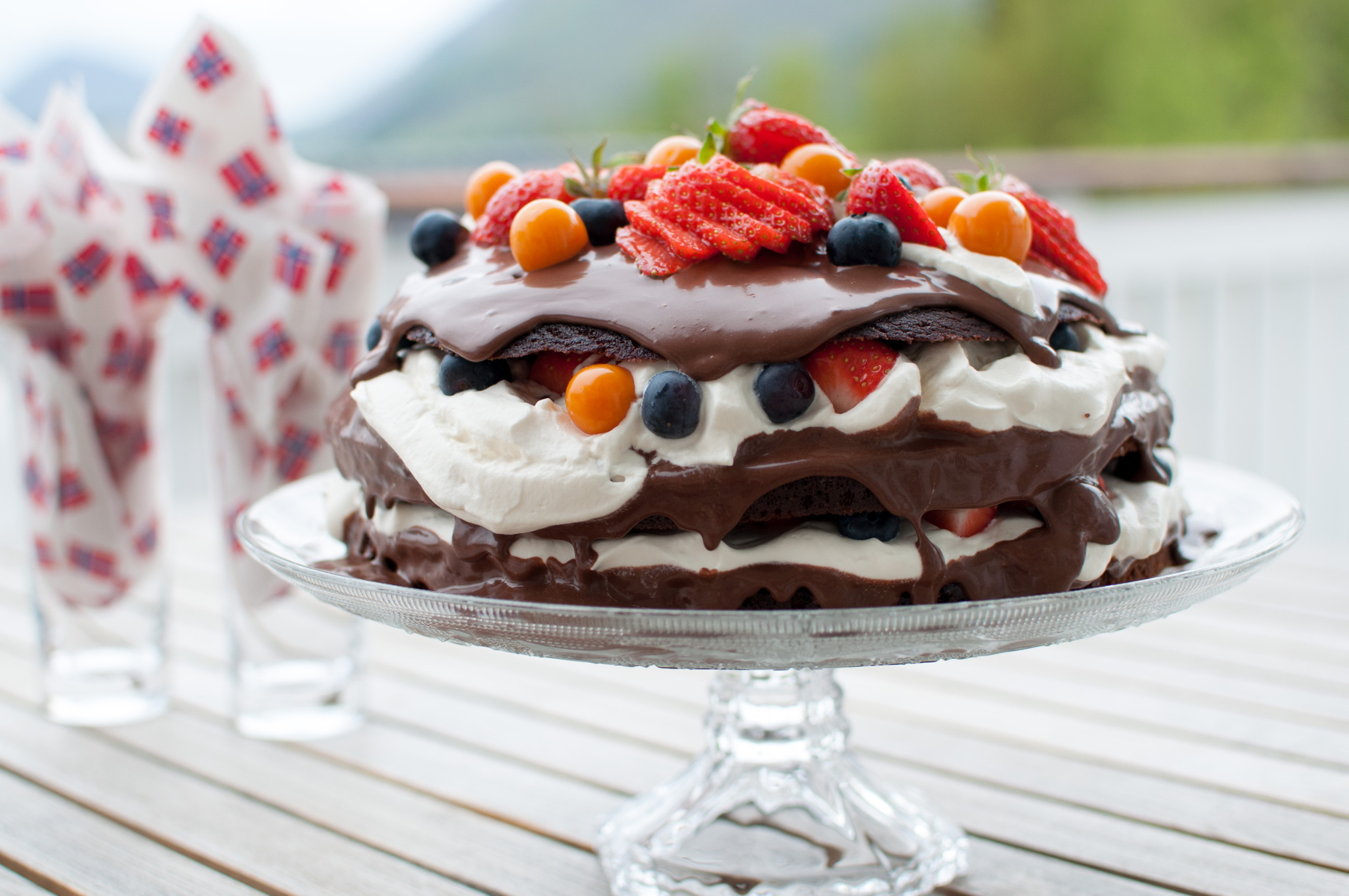 paleo sjokoladekake