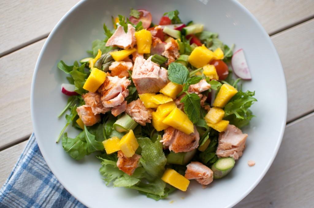 laks salat