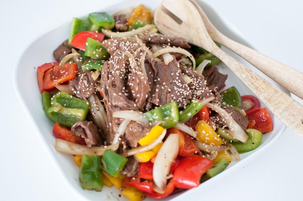 blask pepper sauce wok