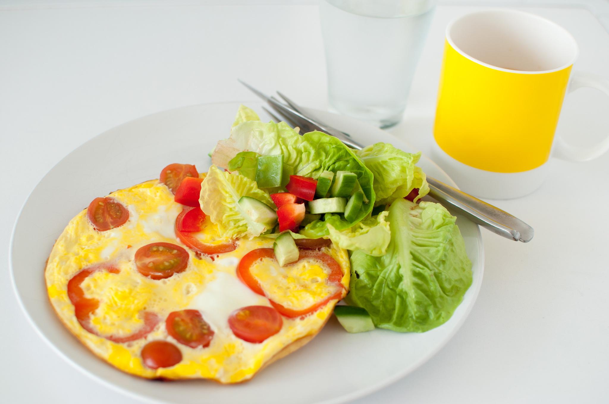 frukostomelett