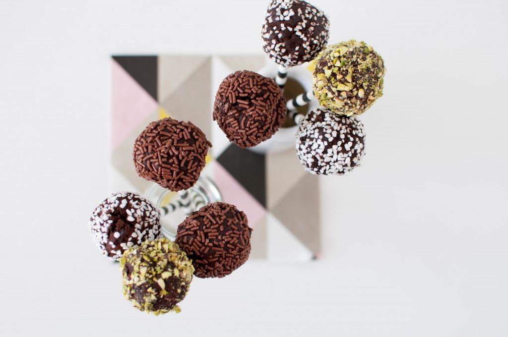brownies på pinne