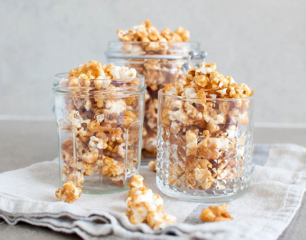 karamell popcorn