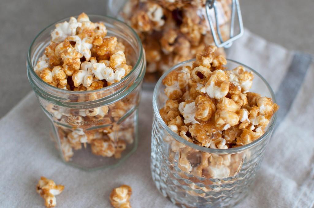 caramell popcorn
