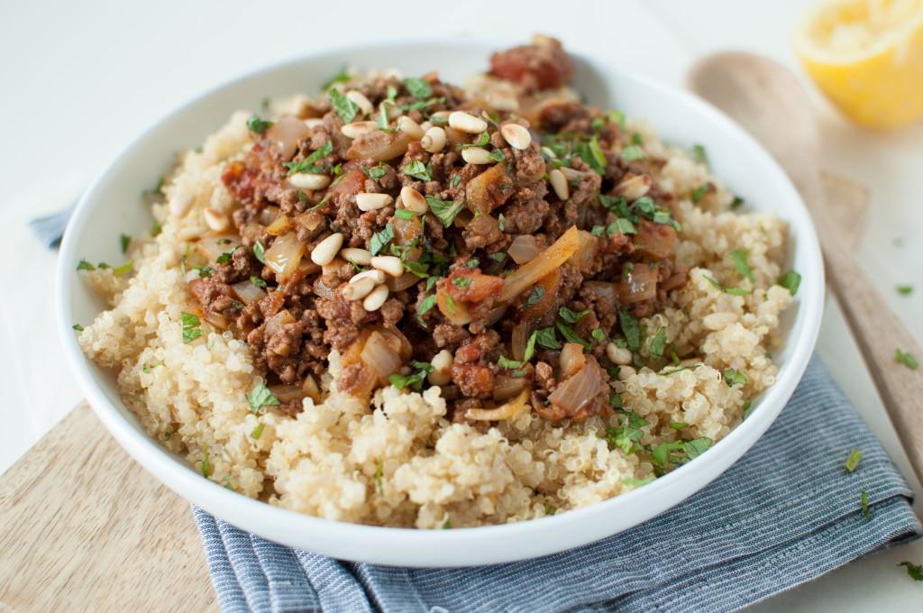 marokkansk lammegryte med quinoa