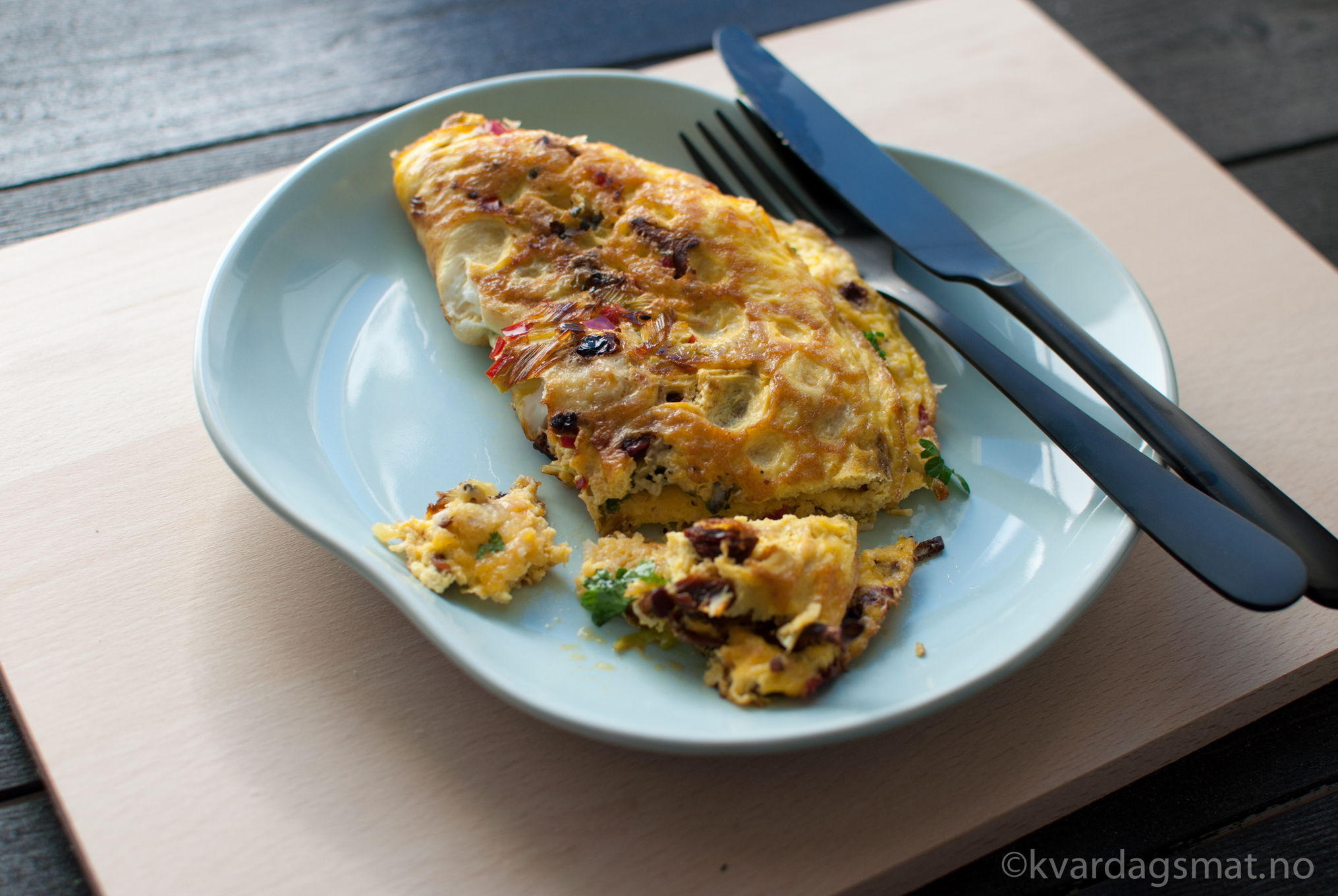 kantarell egg