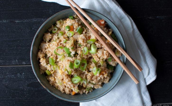 kinesisk stekt ris
