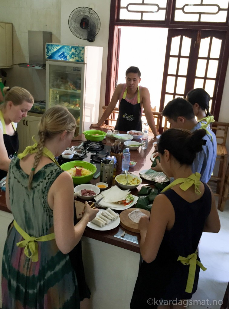 bamboo cooking school
