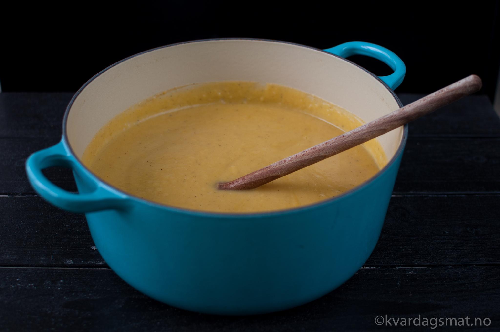 gresskarsuppe