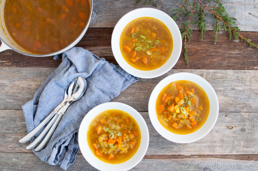 lindrande linsesuppe