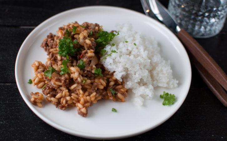 meksikansk risotto