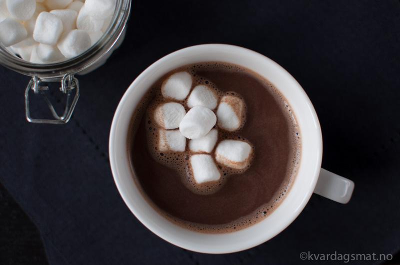 oppskrift varm sjokolade