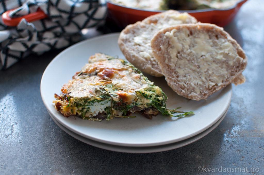 oppskrift omelett