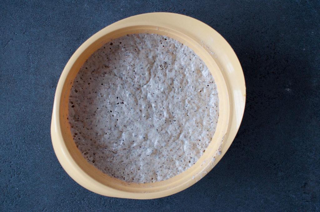 eltefritt rugbrød med chiafrø