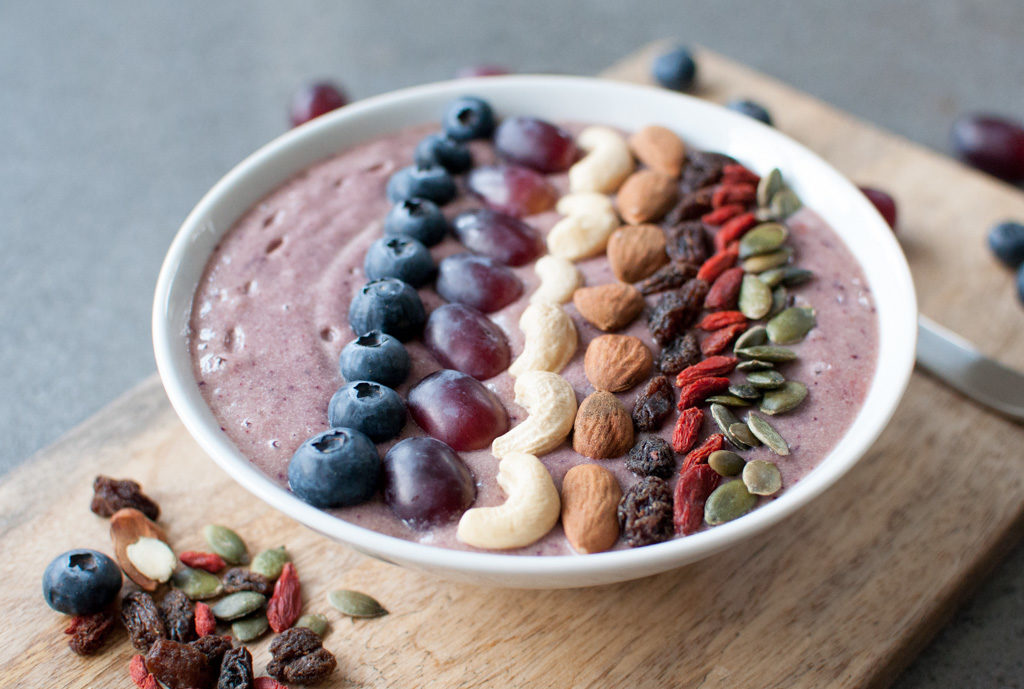 smoothie bowl oppskrift