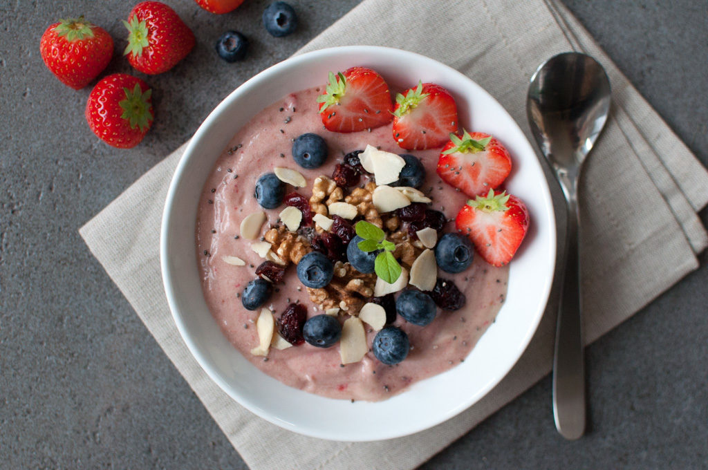 enkel smoothie bowl