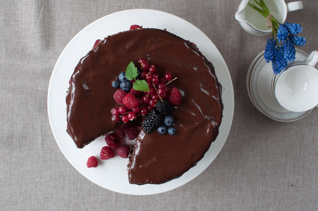 oppskrift sjokoladekake