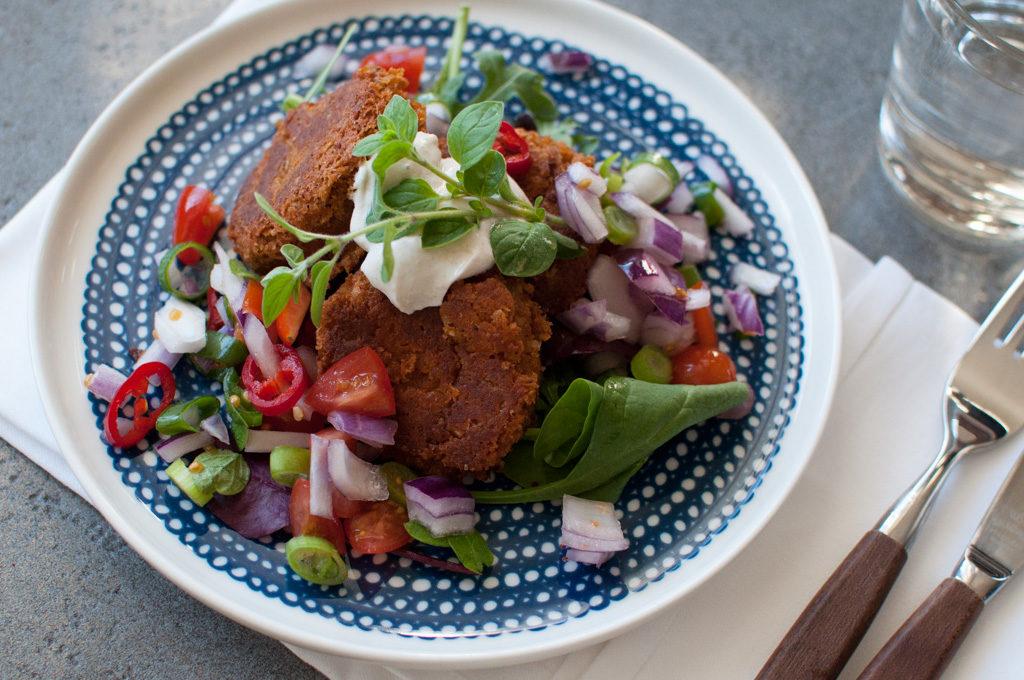 glutenfri falafel