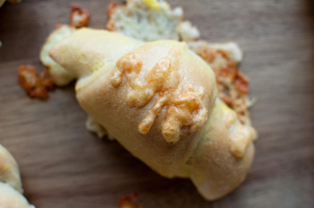 horn med ost og skinke
