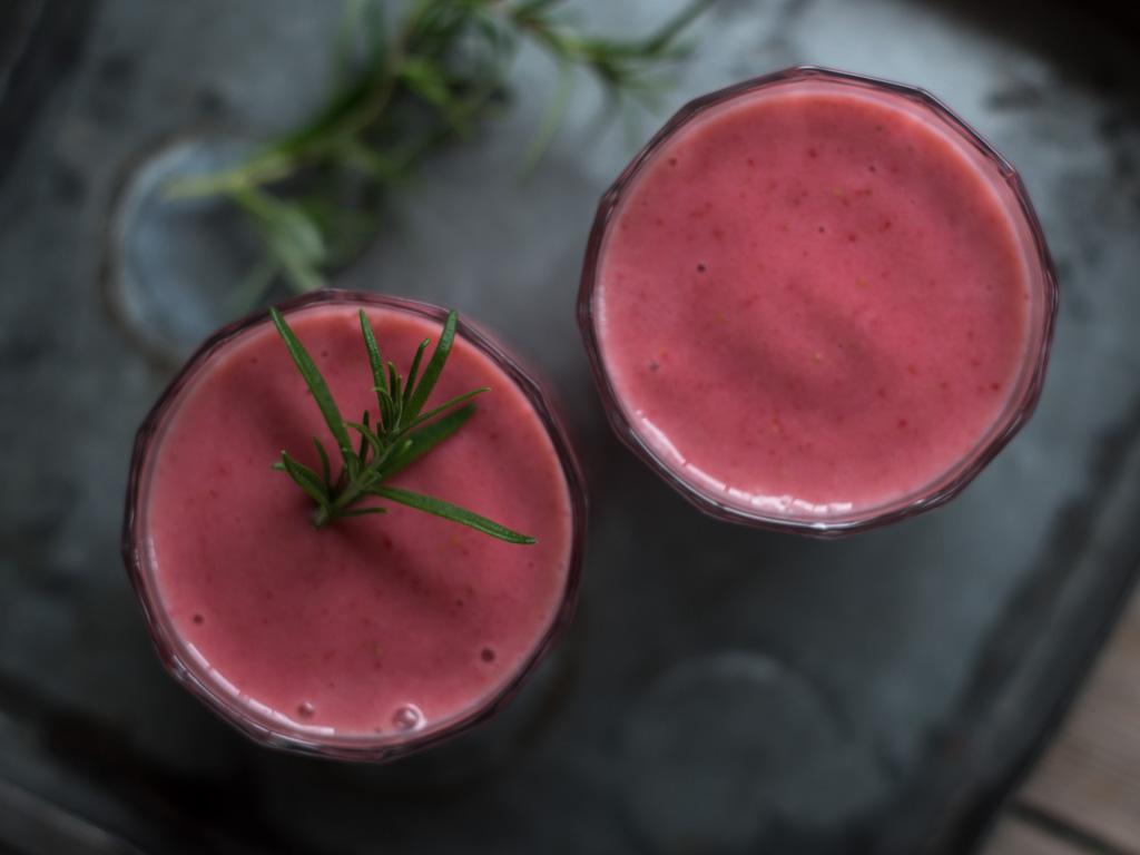 jordbær smoothie