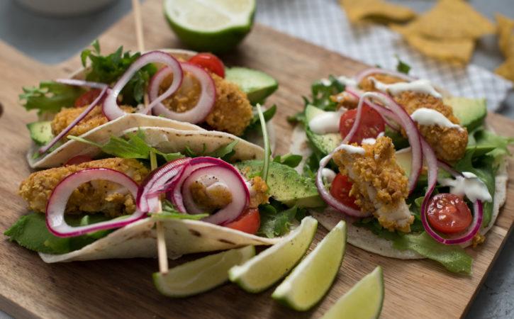 taco med torsk