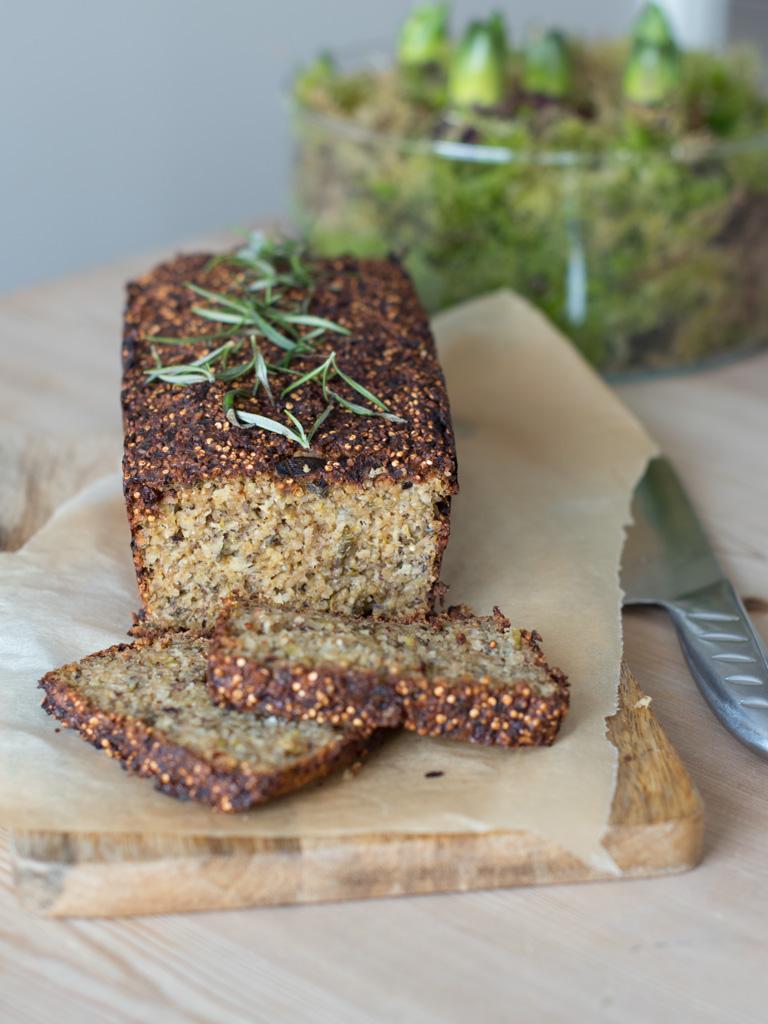 nøttestek med quinoa