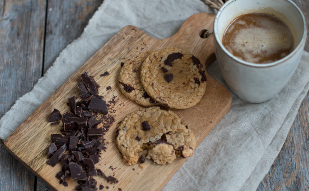 glutenfrie sjokoladekjeks