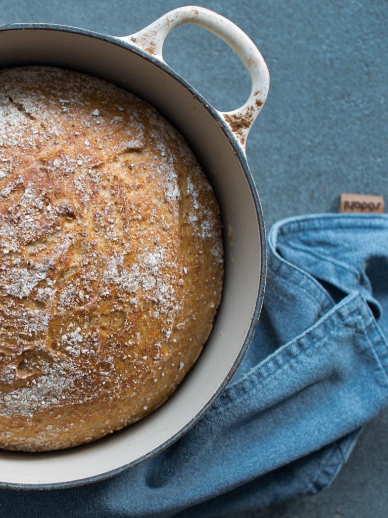 eltefritt brød med sammalt kveite