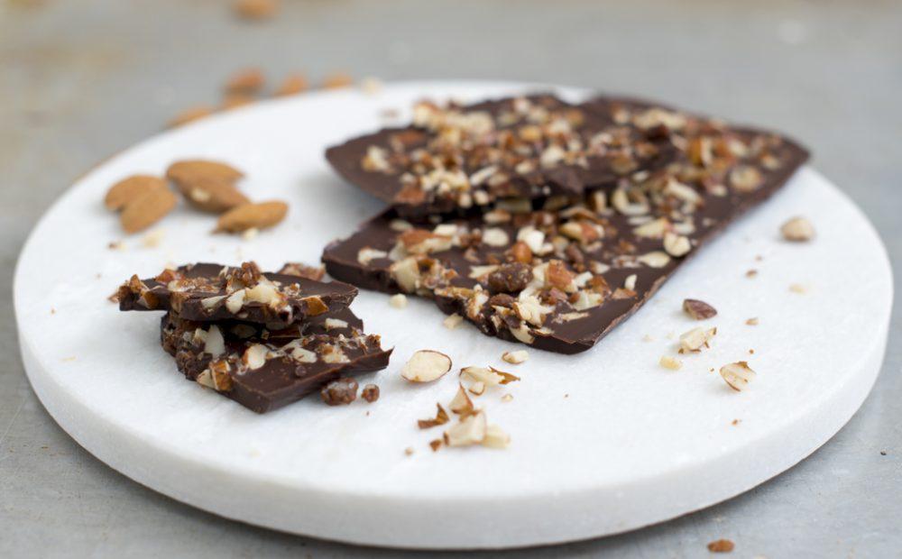 Sjokolade med karamellkrokan