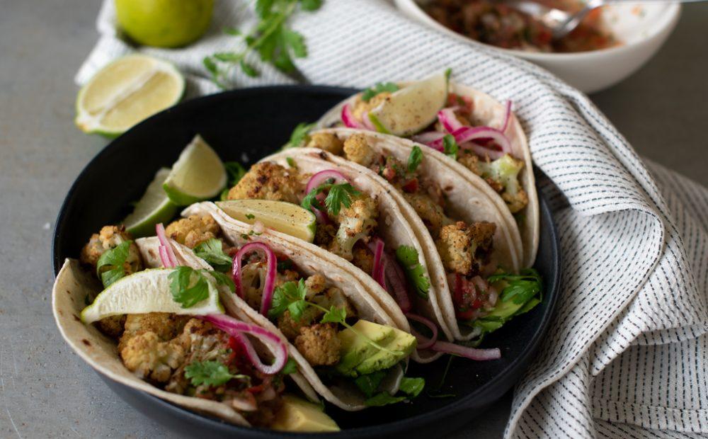 blomkål-taco