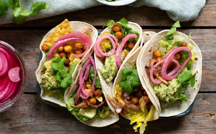 taco med kikerter